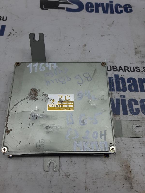 Блок управления двс Subaru Legacy BG5 EJ20H 1995