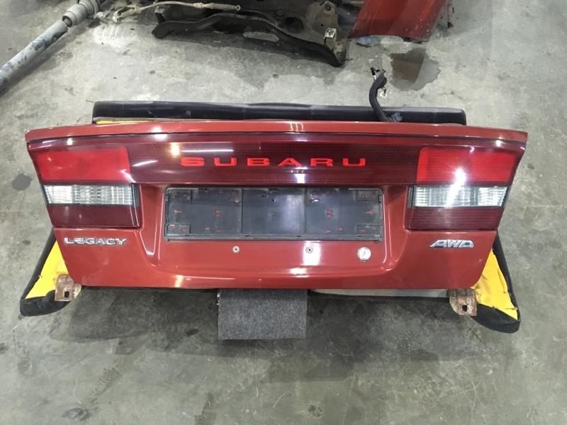 Крышка багажника Subaru Legacy BE6 EJ251 2004 задняя