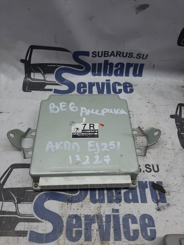 Блок управления двс Subaru Legacy BE6 EJ251 2004