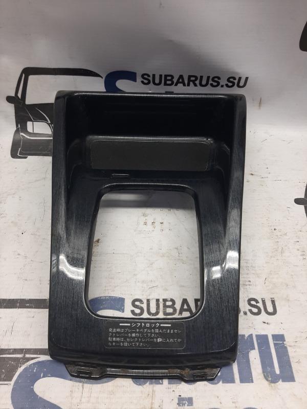 Накладка декоративная селектора акпп Subaru Forester SF5 EJ205 2000