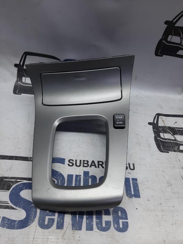 Накладка декоративная селектора акпп Subaru Forester SG5 EJ205 2003