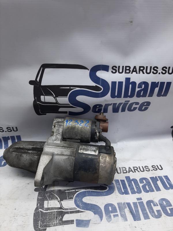 Стартер Subaru Legacy BE5 EJ208 1999