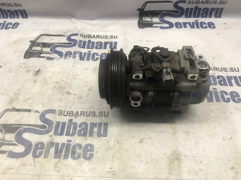 Компрессор кондиционера Subaru Legacy BE5 EJ208 2002