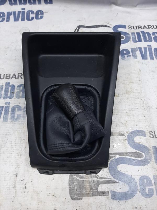 Накладка декоративная консоли мкпп Subaru Forester SF5 EJ205 2001