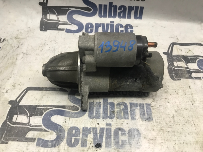Стартер Subaru Forester SF5 EJ201 2001