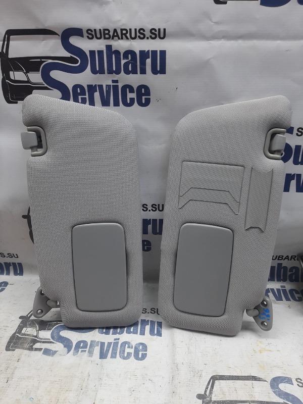 Козырек солнцезащитный Subaru Forester SG5 EJ205 2004 передний