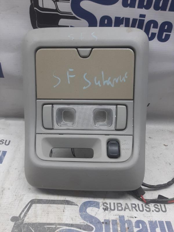 Плафон салонный Subaru Forester SF5 EJ205 2001 передний