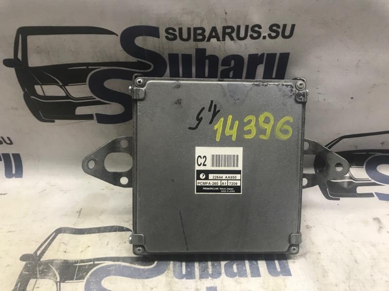 Блок управления двс Subaru Impreza GG2 EJ152 2006