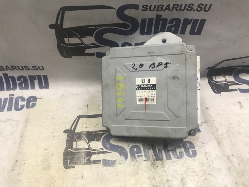 Блок управления двс Subaru Legacy BP5 EJ203 2004