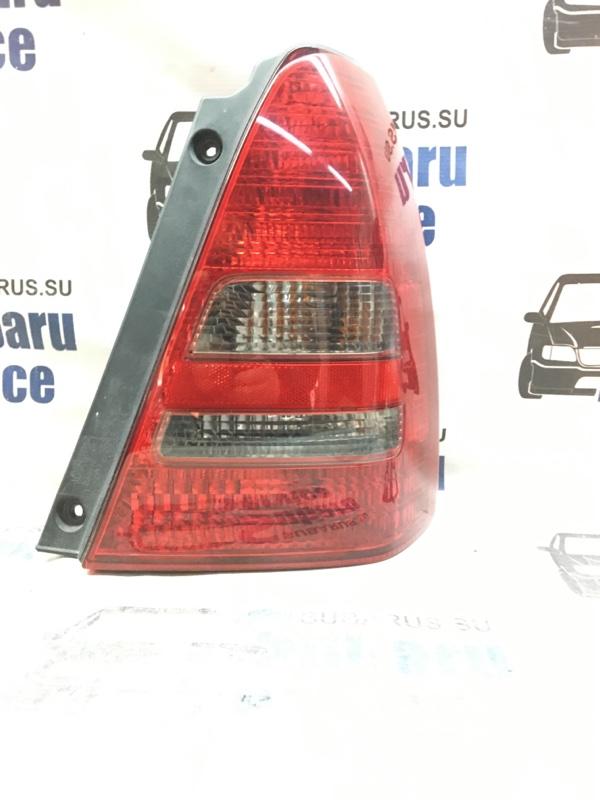 Стоп-сигнал Subaru Forester SG5 EJ202 2003 задний правый