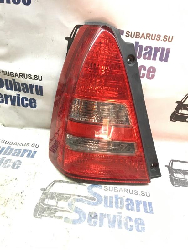 Стоп-сигнал Subaru Forester SG5 EJ202 2003 задний левый