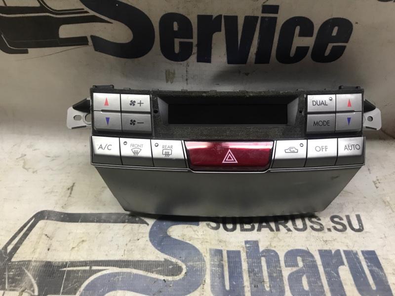 Блок управления климат-контролем Subaru Outback BRF EZ36 2009
