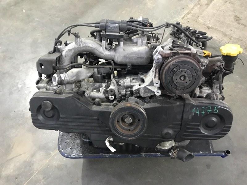 Двигатель Subaru Forester SG5 EJ202 2002