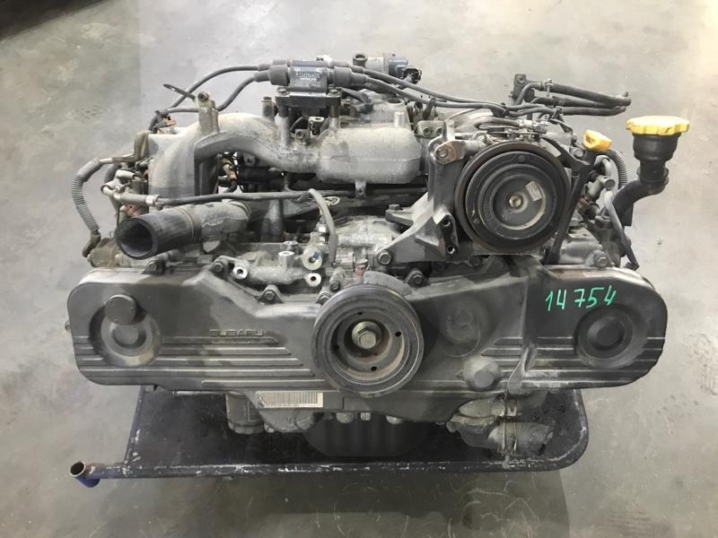 Двигатель Subaru Legacy Wagon BH5 EJ201 1999