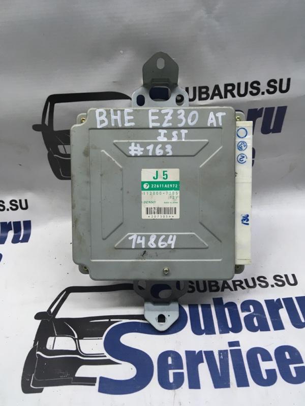 Блок управления двс Subaru Legacy Lancaster BHE EZ30D 2000