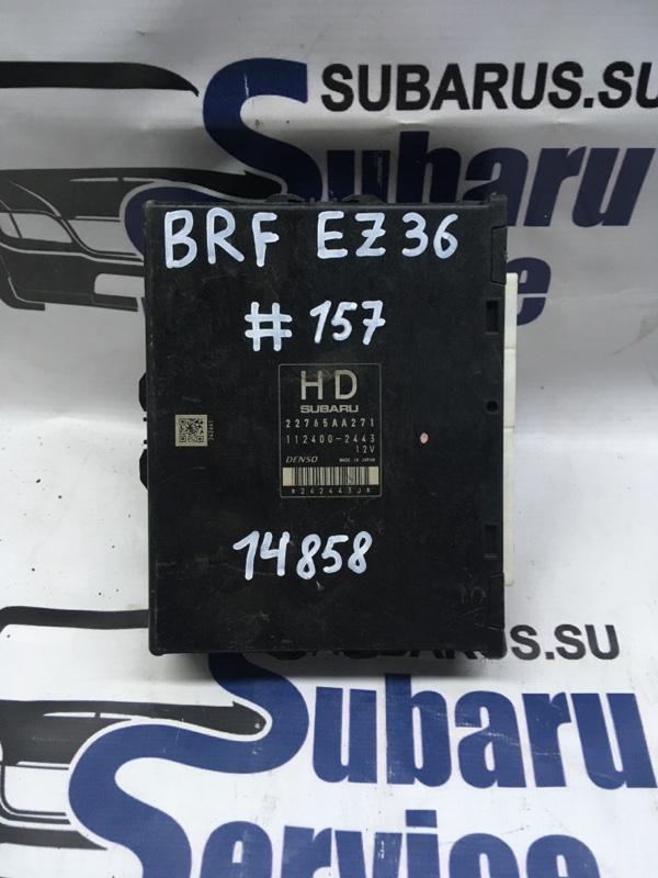 Блок управления двс Subaru Outback BRF EZ36 2009