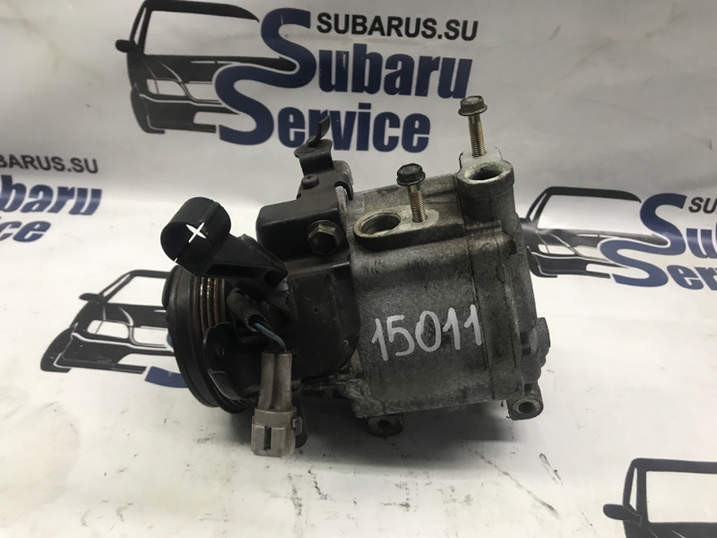 Компрессор кондиционера Subaru Legacy Wagon BP5 EJ204 2005