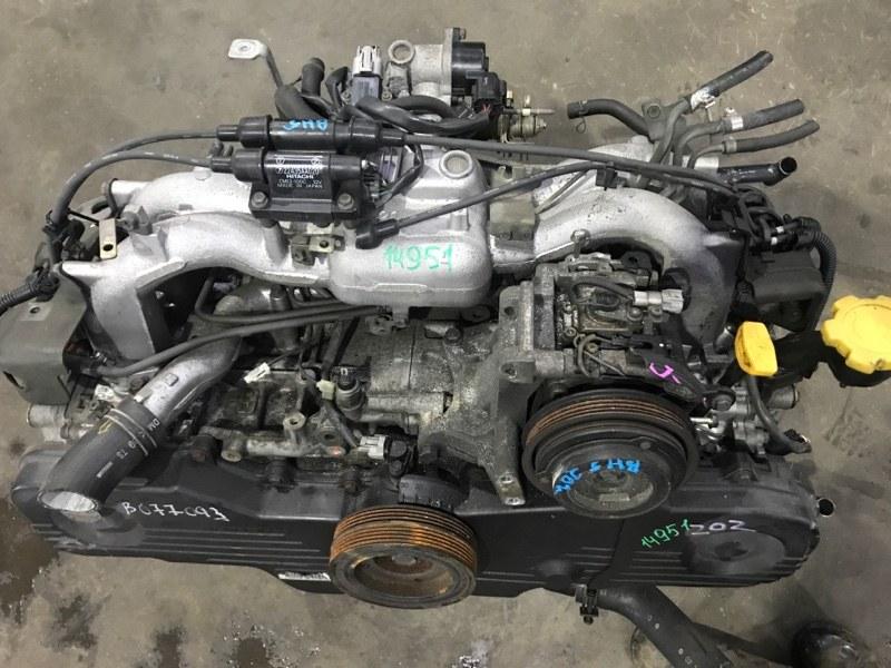 Двигатель Subaru Legacy B4 BE5 EJ202 2000