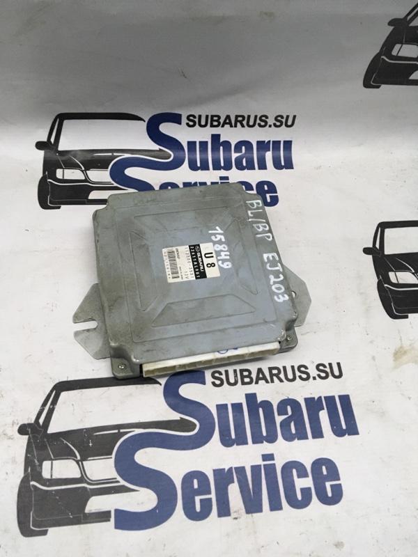 Блок управления двс Subaru Legacy Wagon BP5 EJ203 2004