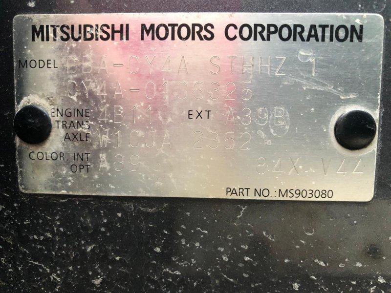 Mitsubishi Lancer X 2007г.