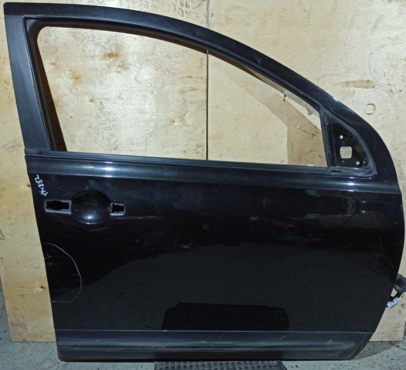 Дверь Nissan Qashqai J10 HR16DE 2007 передняя правая (б/у)