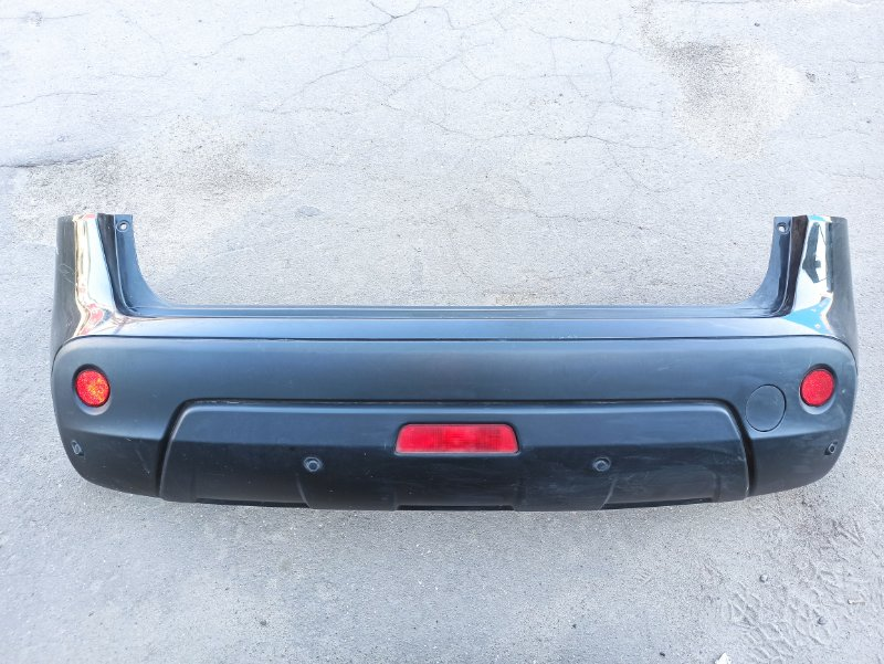 Бампер Nissan Qashqai J10 HR16DE 2007 задний (б/у)