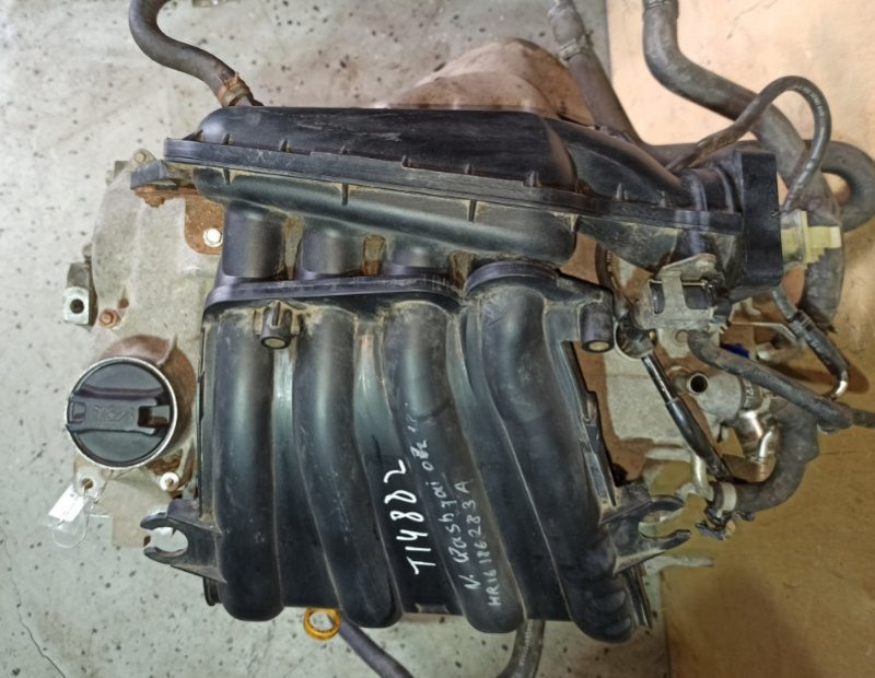 Двигатель Nissan Qashqai J10 HR16DE 2007 (б/у)