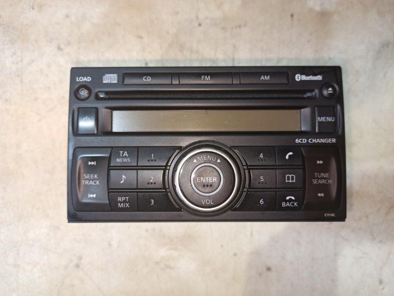 Магнитола Nissan Qashqai J10 HR16DE 2007 (б/у)