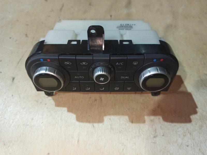 Блок управления климат-контролем Nissan Qashqai J10 HR16DE 2007 (б/у)