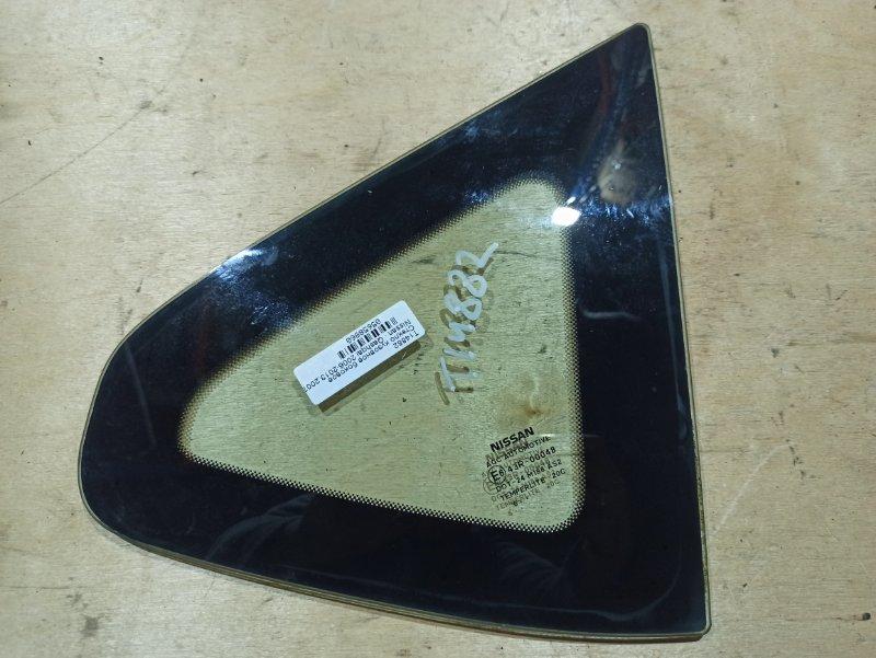 Стекло Nissan Qashqai J10 HR16DE 2007 заднее правое (б/у)