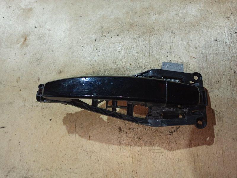 Ручка двери внешняя Opel Astra H GTC Z18XER 2010 передняя левая (б/у)