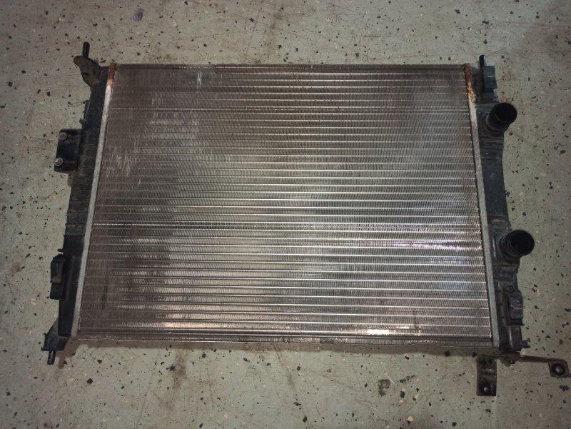 Радиатор двс Nissan Qashqai J10 HR16DE 2007 (б/у)