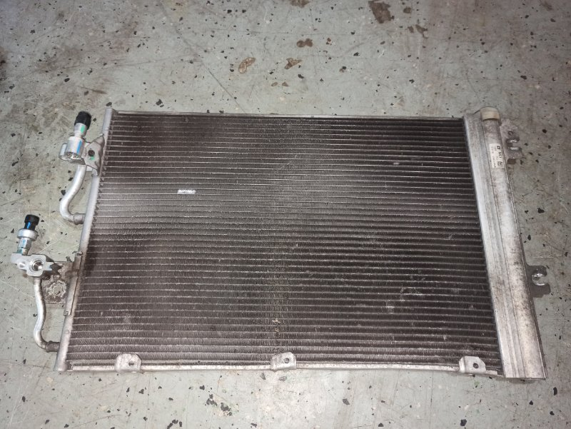 Радиатор кондиционера Opel Astra H ХЭТЧБЕК 5Д Z14XEP 2008 (б/у)
