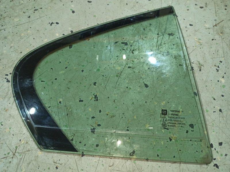 Стекло двери задней Opel Insignia ХЭТЧБЕК A18XER 2009 заднее правое (б/у)