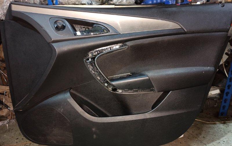 Обшивка двери карта Opel Insignia ХЭТЧБЕК A18XER 2009 передняя правая (б/у)