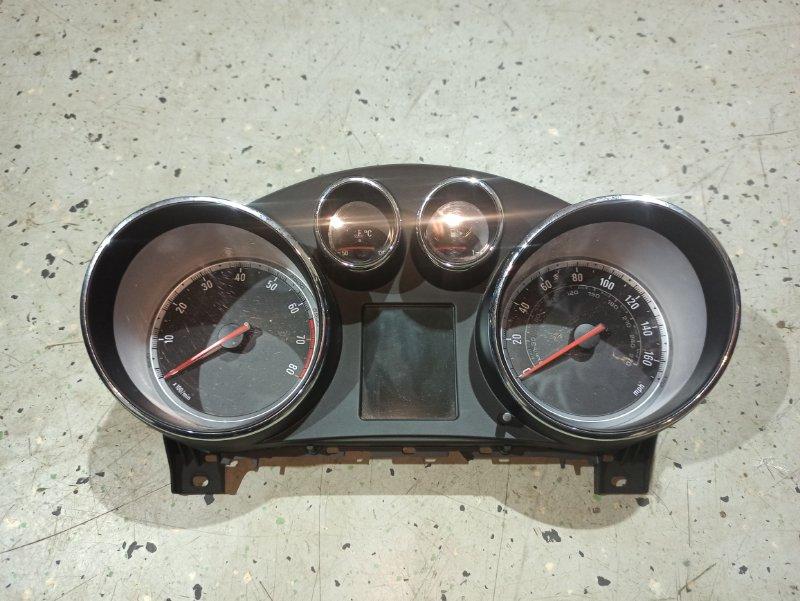 Панель приборная (щиток приборов) Opel Insignia ХЭТЧБЕК A18XER 2012 (б/у)