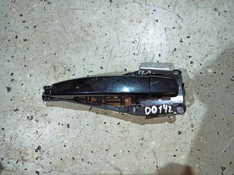 Ручка двери внешняя Opel Insignia ХЭТЧБЕК A18XER 2012 передняя левая (б/у)