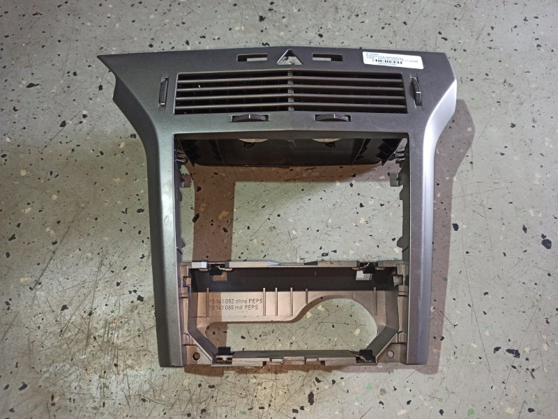 Пластик центральной консоли Opel Astra H ХЭТЧБЕК 5Д Z14XEP 2006 (б/у)
