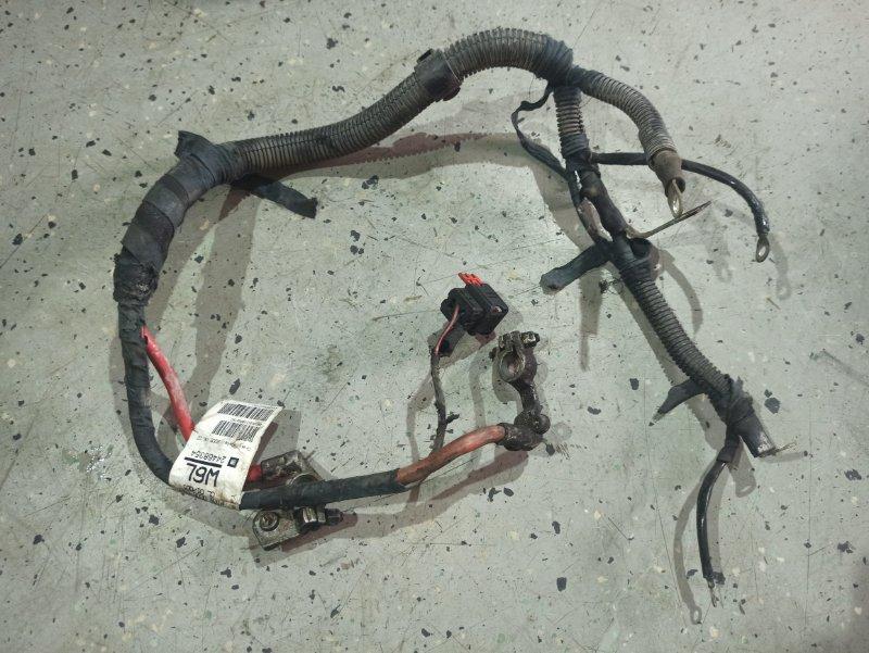 Проводка (клемма аккумулятора) Opel Astra H ХЭТЧБЕК 5Д Z14XEP 2006 (б/у)