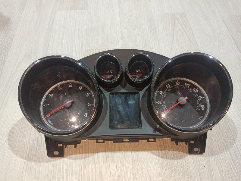 Панель приборная (щиток приборов) Opel Astra J ХЭТЧБЕК 5Д A14XER 2011 (б/у)