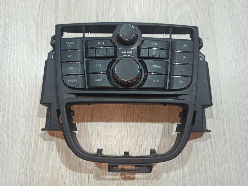 Блок управления магнитолой Opel Astra J ХЭТЧБЕК 5Д A14XER 2011 (б/у)