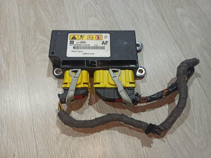 Блок управления аирбаг Opel Astra J ХЭТЧБЕК 5Д A14XER 2011 (б/у)
