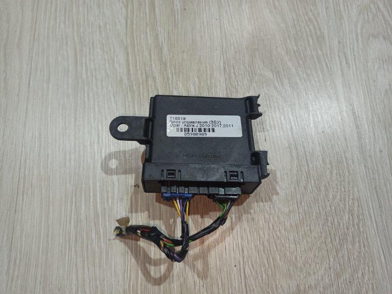 Блок управления парктрониками Opel Astra J ХЭТЧБЕК 5Д A14XER 2011 (б/у)
