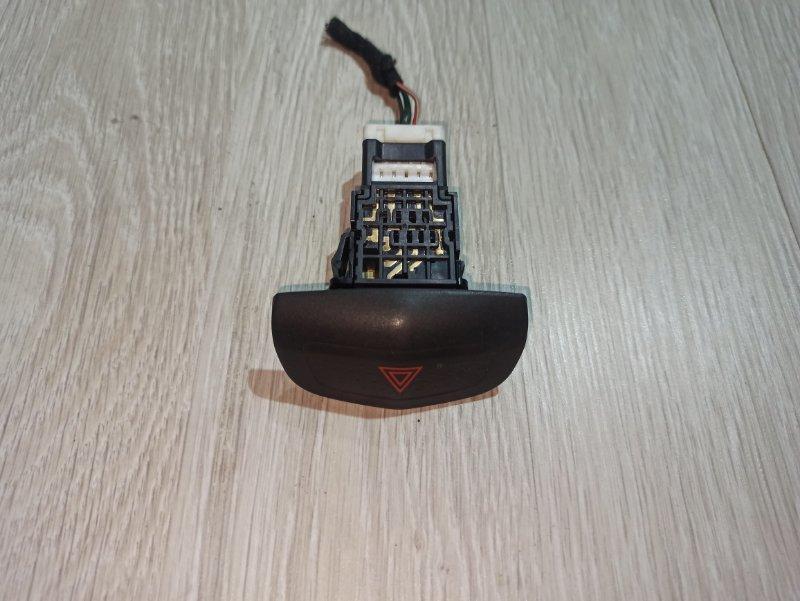Кнопка аварийной сигнализации Nissan Primera P12 УНИВЕРСАЛ QG18DE 2004 (б/у)