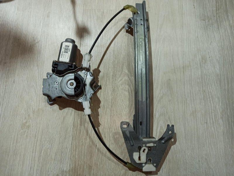 Стеклоподъемник Nissan Primera P12 УНИВЕРСАЛ QG18DE 2004 задний левый (б/у)