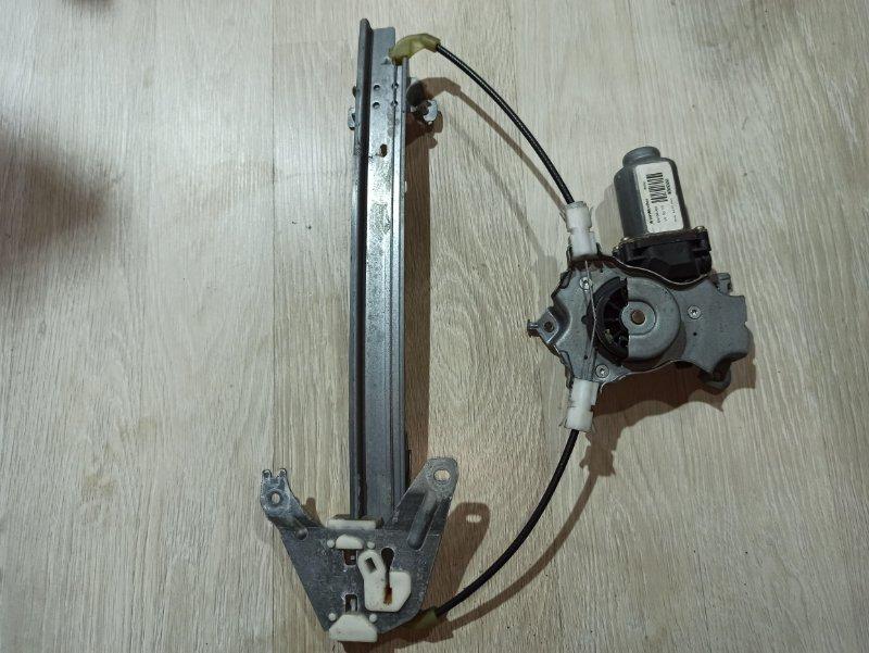 Стеклоподъемник Nissan Primera P12 УНИВЕРСАЛ QG18DE 2004 задний правый (б/у)
