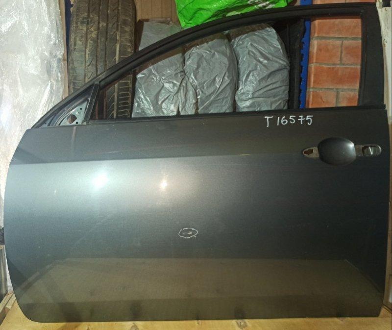 Дверь Nissan Primera P12 УНИВЕРСАЛ QG18DE 2004 передняя левая (б/у)