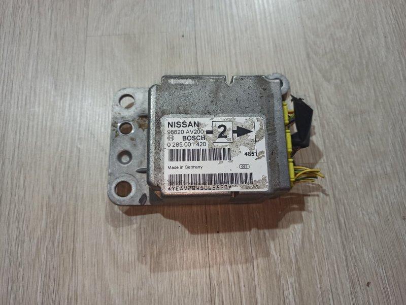 Блок управления аирбаг Nissan Primera P12 ЛИФТБЕК QG18DE 2005 (б/у)