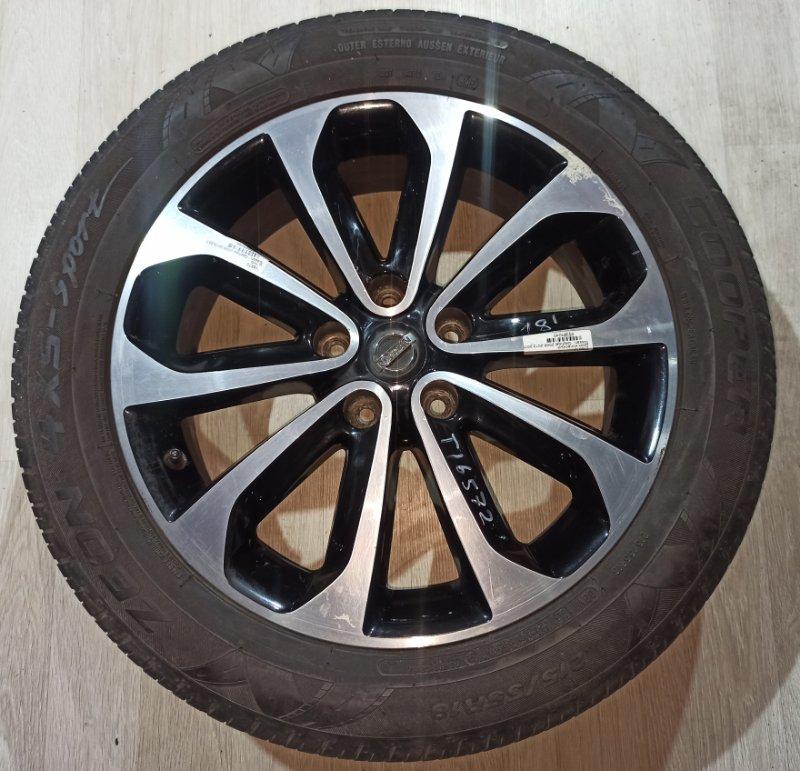 Диск колесный литой Nissan Qashqai J10 HR16DE 2013 (б/у)