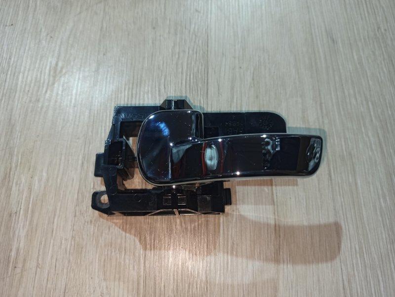Ручка двери внутренняя Nissan Qashqai J10 HR16DE 2013 левая (б/у)
